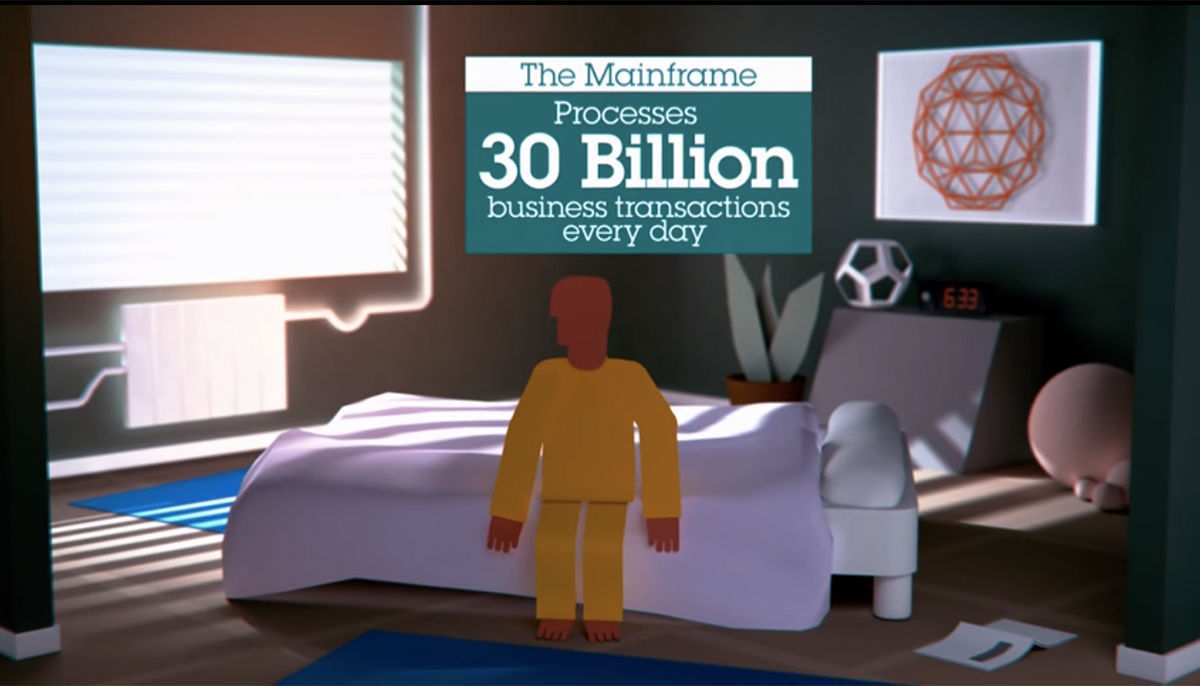 Mainframe processes 30 billion business transactions every day